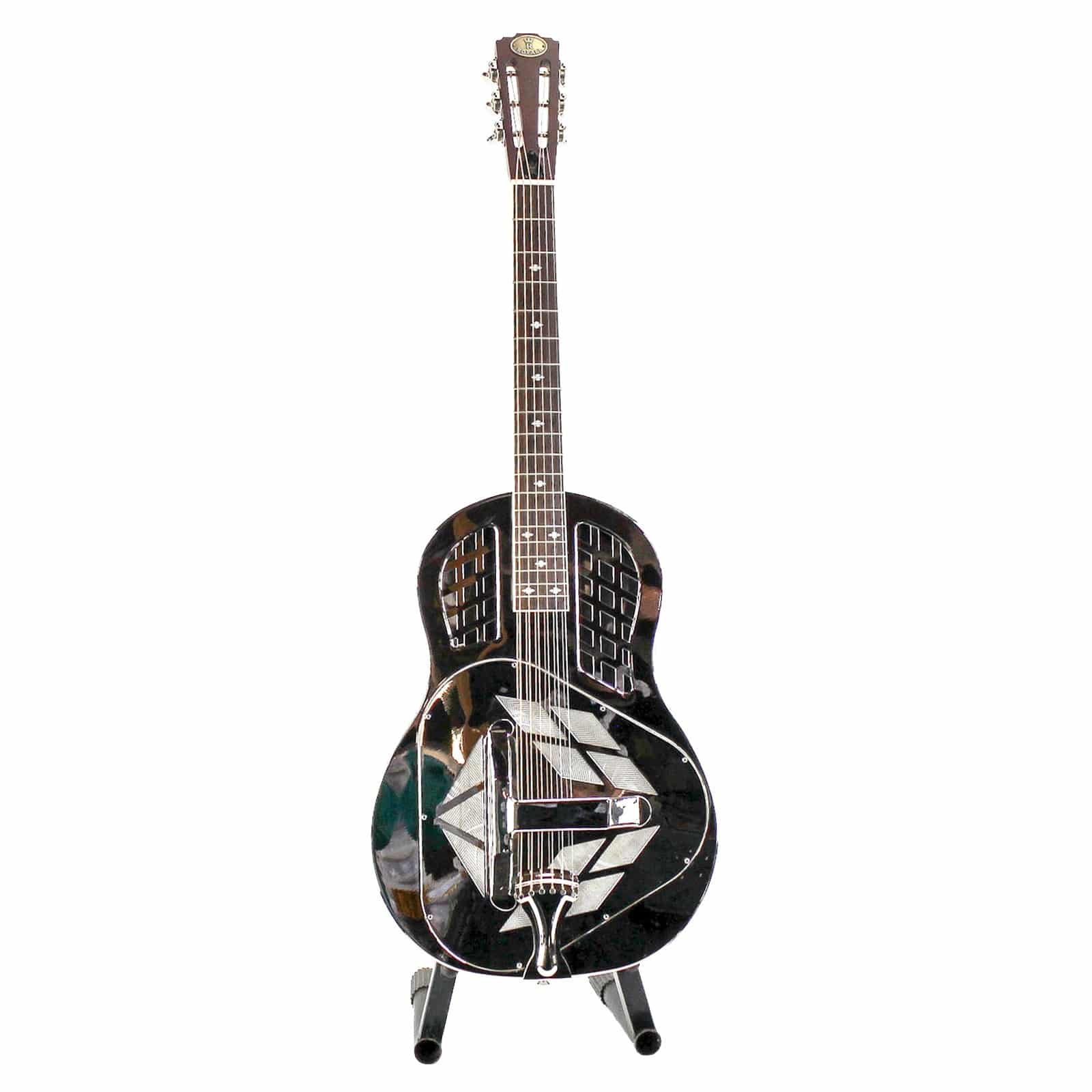 Imperial Guitars Theyre Made From Trees Art 320 Humbucker Wiring Diagram Royall Trifecta Nickel Plated Brass Body Tricone Resonator