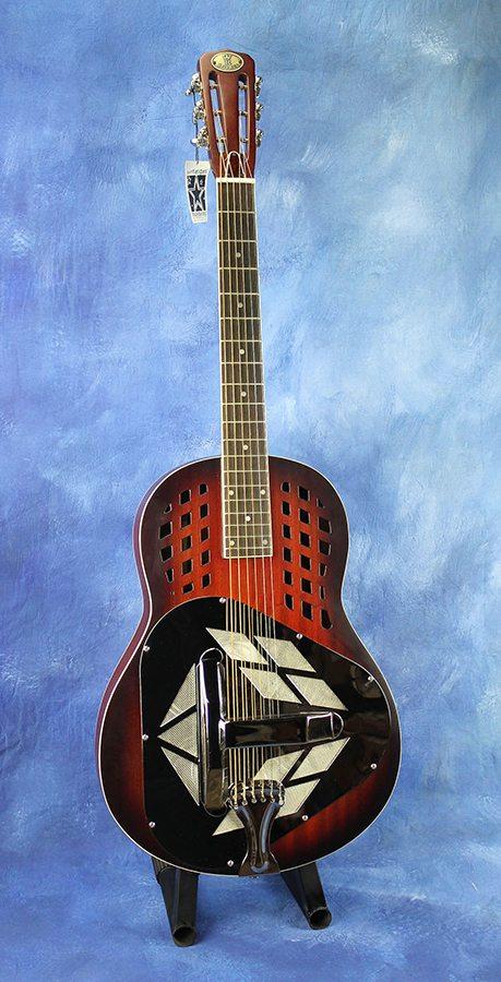 royall trifonium all mahogany tricone resonator imperial guitars. Black Bedroom Furniture Sets. Home Design Ideas